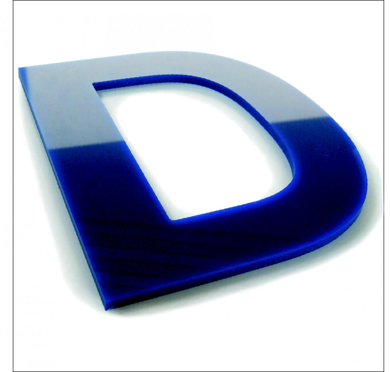 Acrylglas-Fräsbuchstaben, 3mm stark