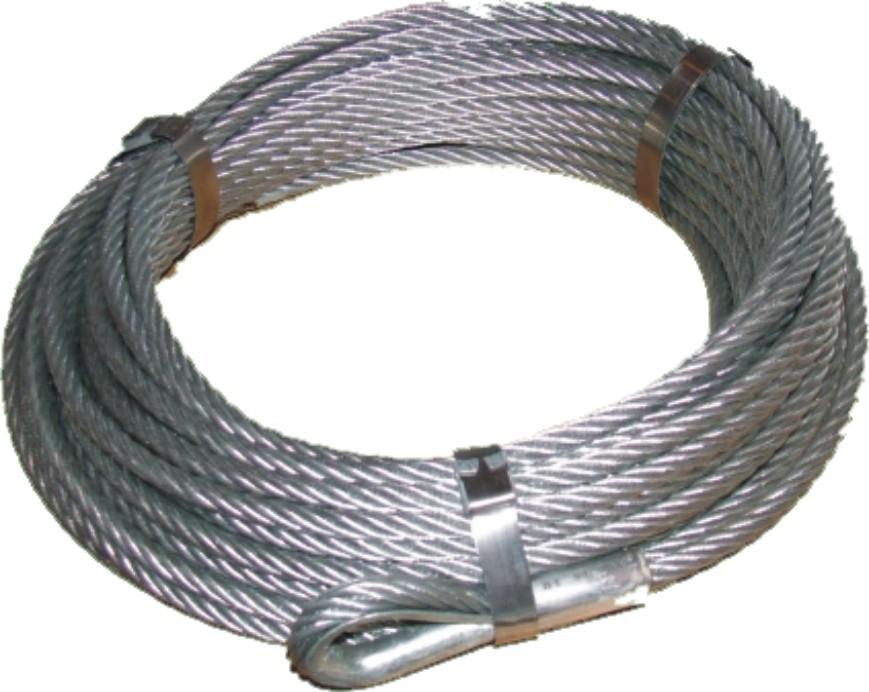 Edelstahl Abspannseil Set für Bannerbreiten von 80cm bis 150cm