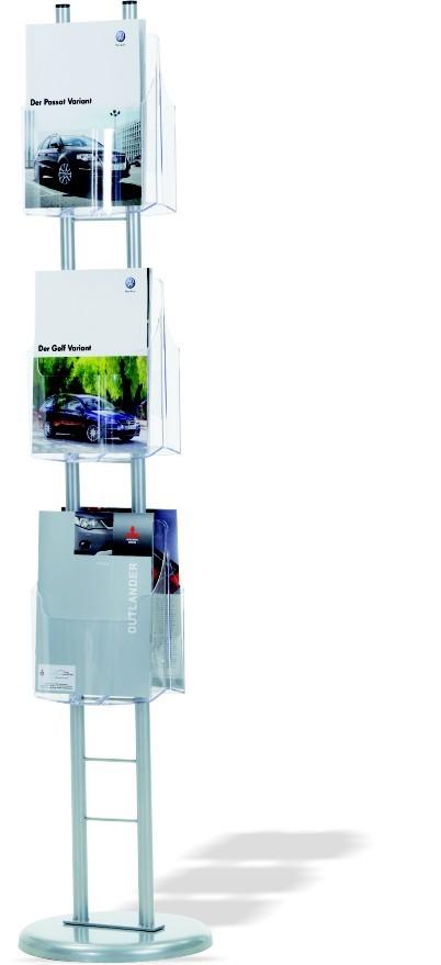 Prospekt-Ständer 1550mm hoch
