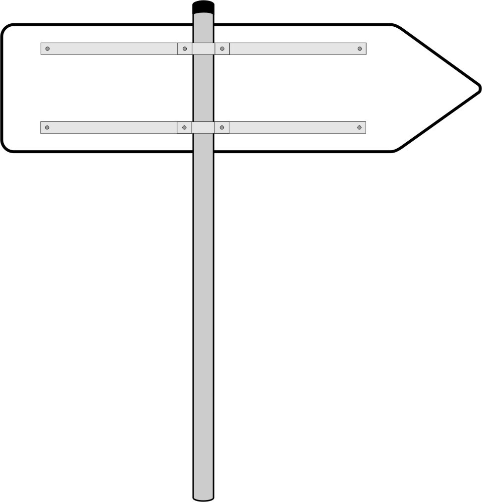 Rohrpfosten 60mm, Stahl verzinkt, 3m lang