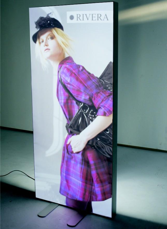 Scintex D LUX Spanntuch-Rahmen, incl. 4-farbigem Digital-Stoffdruck, leuchtend