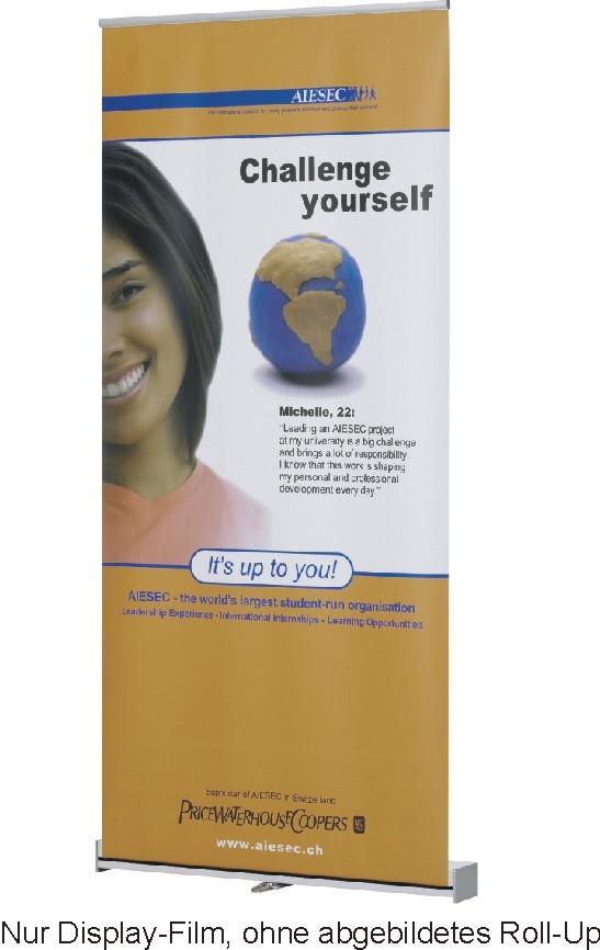 Ersatz-Banner zum Austausch für Roll-Up