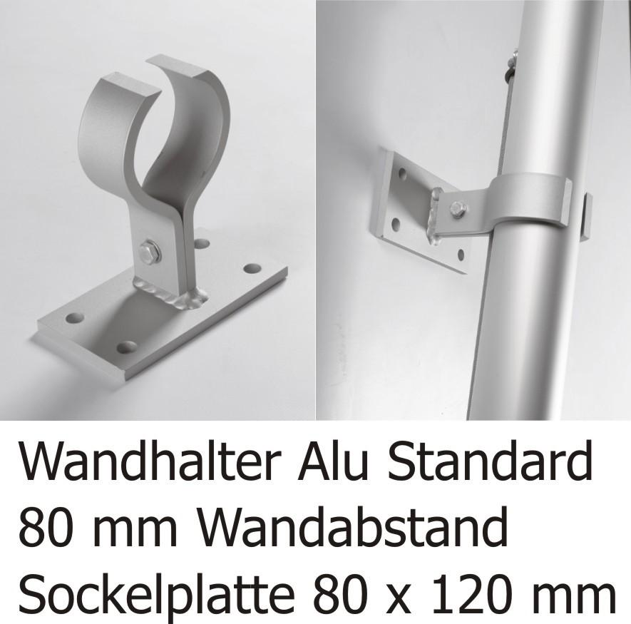 Drag&Drop Rahmen Alu-Klammer Standard (1 VE = 4 Stck.)